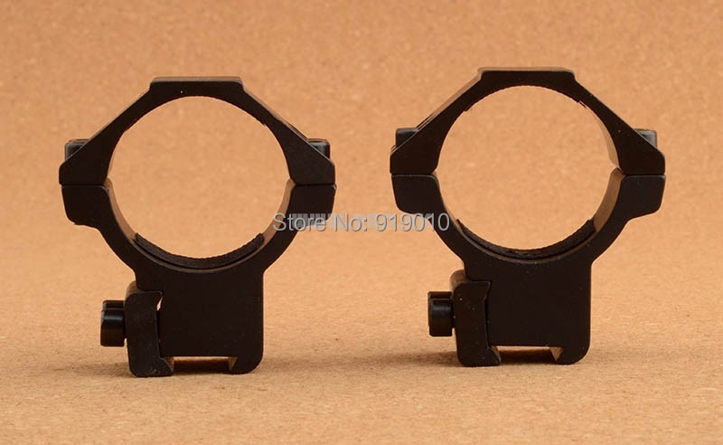 free shipping rifle scope ring for 1.25 inch tube fit 11mm rail mount base hunting shooting M9077(China (Mainland))