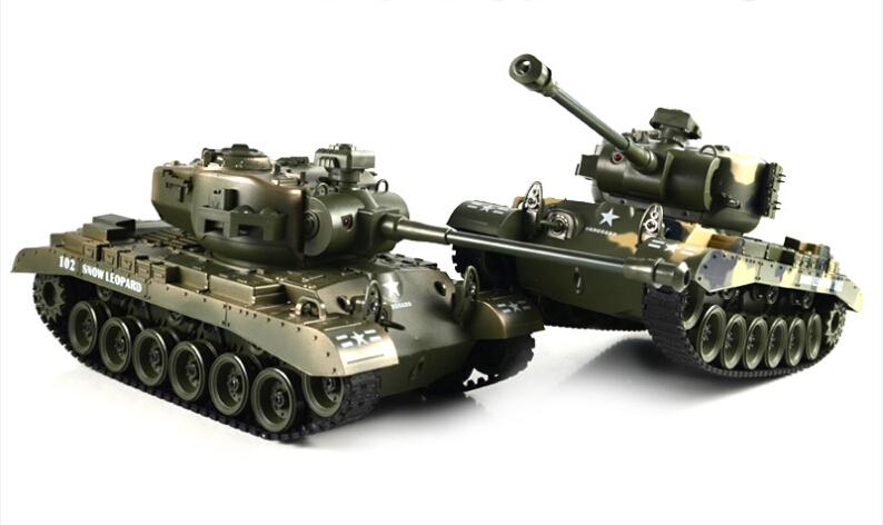 RC Remote Control 1:18 Scale America M26 Battle Tank