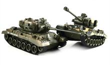 World of tank Remote Radio Control 1:18 Scale America M26 Battle Tank RC Military Tanks Model,Battling Panzer War Game Toy