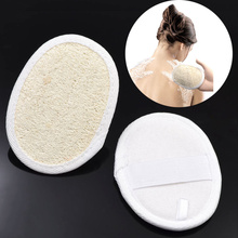 2 pieces Exfoliating Body Scrub Gloves Shower Bath Mitt Loofah Skin Massage Sponge bath Brush Bathing Accessories(China (Mainland))