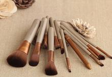 12pcs Maquiagem Naked 3 Makeup Brushes Professional Cosmetics NK3 power Maquillage Brush tool kit Set Eyeshadow