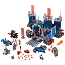 LEPIN 14006 111Nexus Knights Fortrex Castle Building Block Clay Aaron Fox Axl Minifigures legoed - Luckk toy store 3 Store