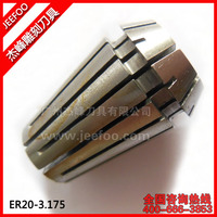 ER20-3.175 Collect/Clamp For Cnc Router Machine/ER Collect For Fix End Mill