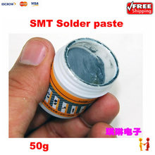 High quality L309050 SMT Solder paste 50g Paste Tin mud Welding Fluxes free shipping(China (Mainland))