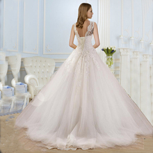 Buy 9036 2016 lace White Ivory Gown Wedding Dresses bride plus size maxi Customer made size 2 4 6 8 10 12 14 16 18 20 22 24 26 for $71.99 in AliExpress store