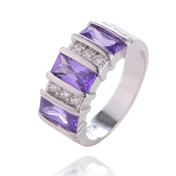 get cheap purple sapphire engagement rings