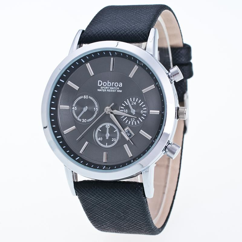 reloj Sport Men north watch water 30m Waterproof Fashion Montre Homme Genuine Leather Relojes Hombre Quartz Male Business Watch