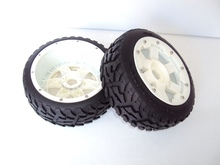 Buy Baja 5B Rovan models two generation nylon highway tire assembly 95084 for $42.50 in AliExpress store