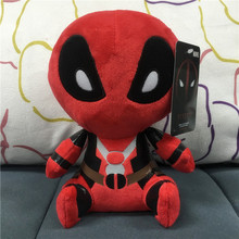 2016 Q Version 20cm X-men genuine Deadpool plush doll Deadpool action figures Marvel movie 8 inch plush toy with tag