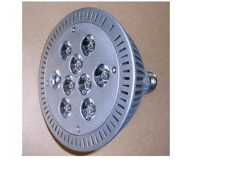 9*1W LED Par light;PAR38 base;98mm*98mm;cold white color;P/N:S-SD-9*PAR38-1