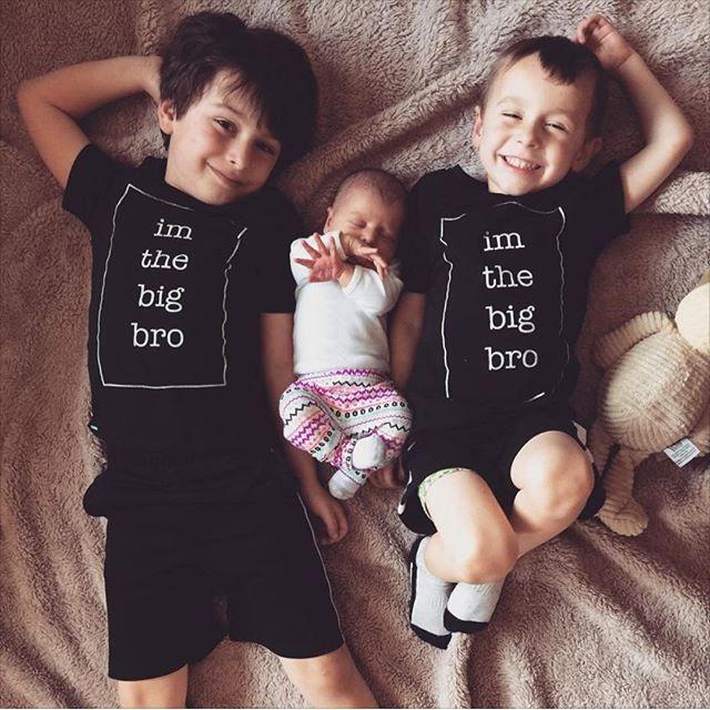 2016 New Fashion Kids T-Shirt Baby Boys Girls Clothes Big Bro Sister TShirt Top Summer Short Sleeve Casual Child Tops Shirt