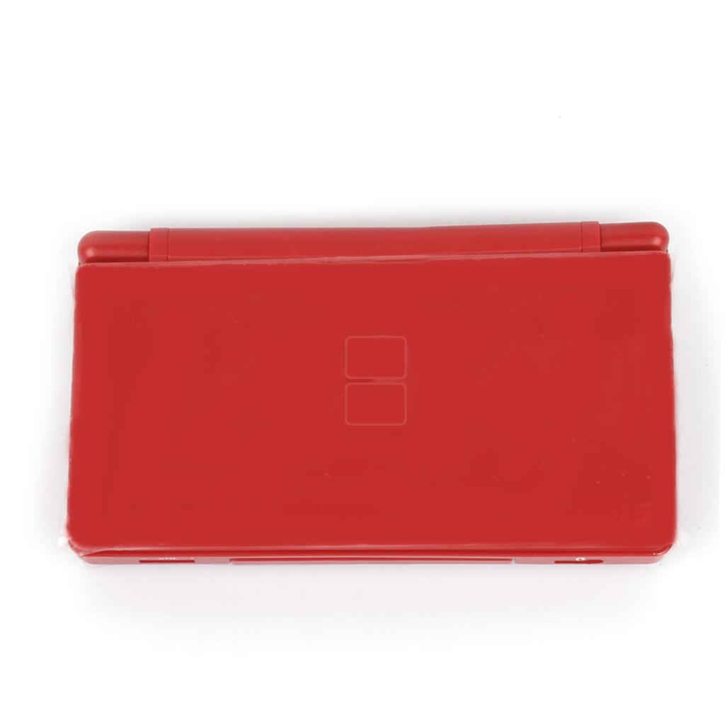 For Nintendo DS Lite Complete Full Housing Shell Case Replacement Repair w/ Hinge Set -Red (China (Mainland))