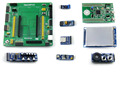 STM32 Development Board for STM32F3DISCOVERY STM32F303VCT6 MCU 9 Modules Kit with PL2303 USB UART Board Open32F3