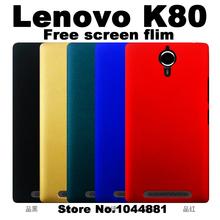 lenovo k80 case cover plastic Hard plastic cover case for lenovo k80 plastic case cover Luxury brand lenovo k80m phone case