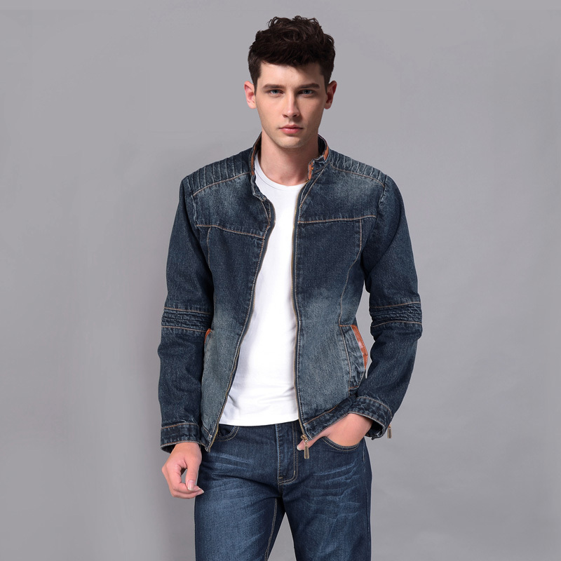 Dark denim jacket outfit mens – Modern fashion jacket photo blog
