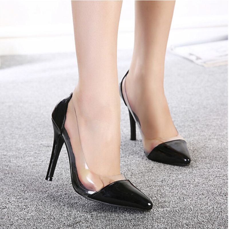 7Colors SIZE 35-39 spring summer autumn flock women pumps high heels women shoes 2015 wedding shoes sapatos feminino