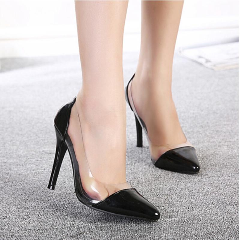 7Colors SIZE 35-39 spring summer autumn flock women pumps high heels women shoes 2015 wedding shoes sapatos feminino