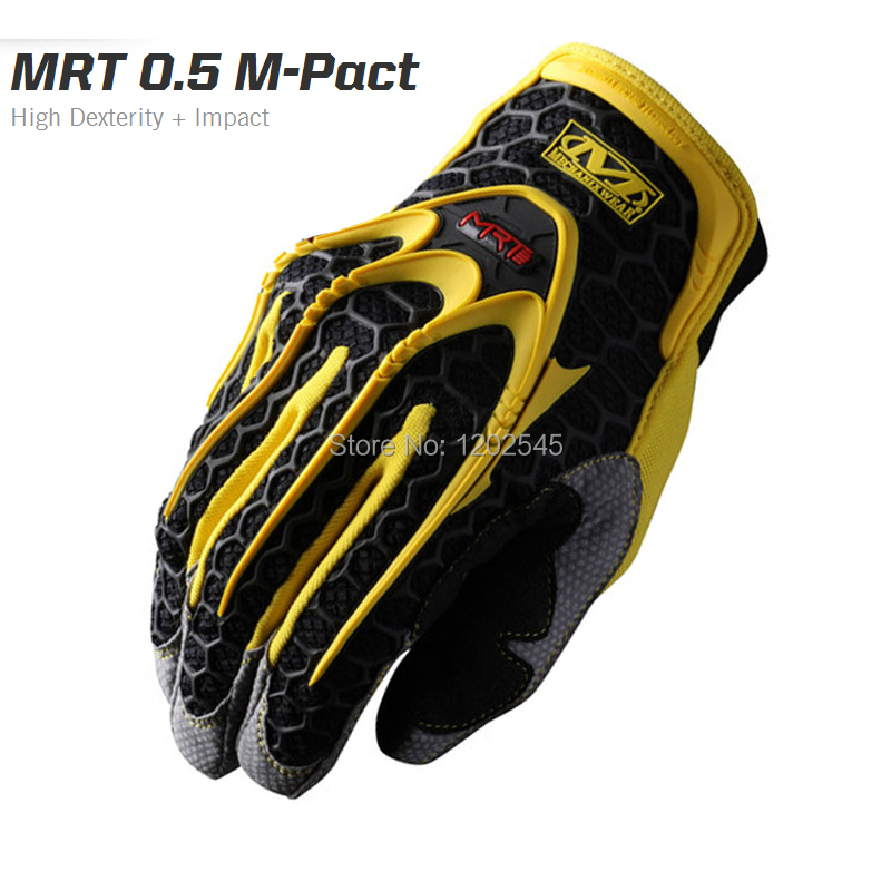 New Mechanix Wear MRT 0.5 M-Pact High Dexterity Impact Motorcycle Hunting Tactical Outdoor Combat Paintball Full Finger Gloves(China (Mainland))