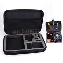 Buy GoPro Case 4.0 Gopro Bag Large GoPro 3+ Hero 3 Hero 1 Hero 2 SJ4000 Camera Bag Accessories Gopro bags Black for $11.64 in AliExpress store