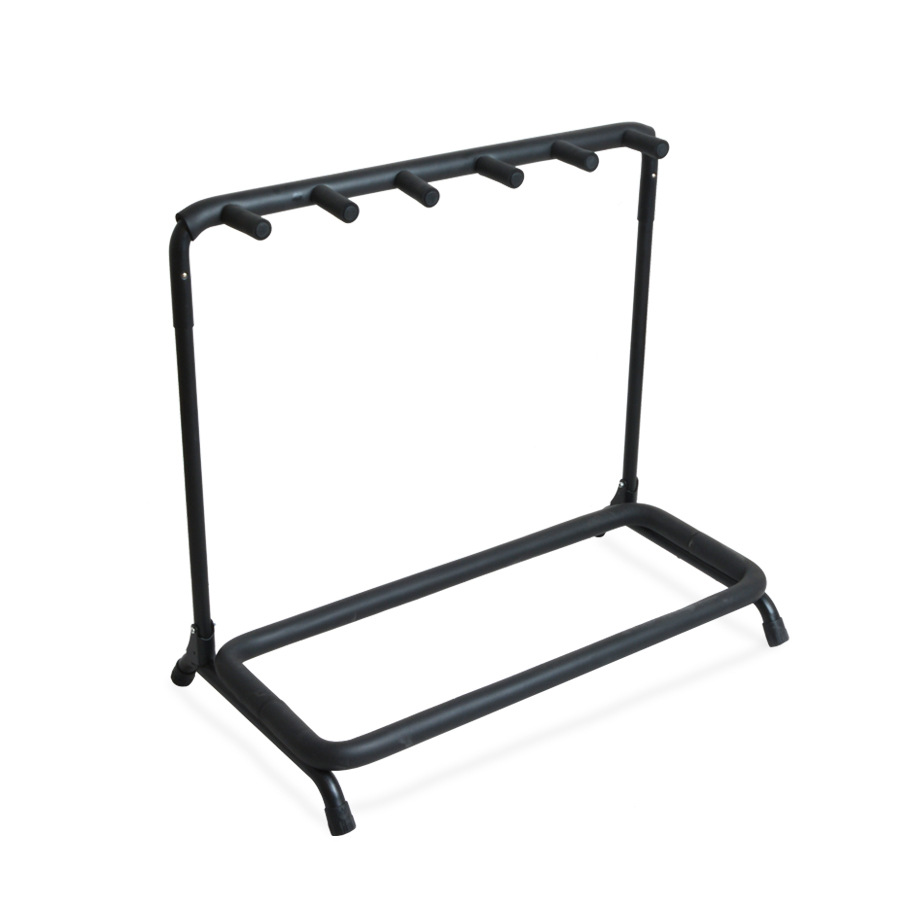 Guitar Stand 5 Holder Guitar Folding Stand Rack Band Stage Bass Acoustic Guitar Universal Guitar Bracket(China (Mainland))