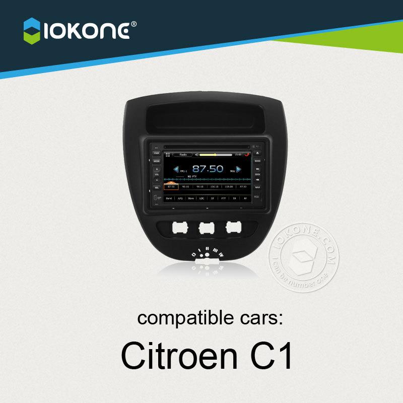 IOKONE Car Video Player For Citroen C1 Toyota AYGO With Radio,Bluetooth,GPS,iPod,Steering Wheel Control(China (Mainland))