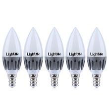 Energy Efficient Lighting LED Bulbs Lightme E14 220-240V C37 3W Dimmable Bulb SMD 2835 Spot Globe LEDs Lamps Spotlight - Time Fly! store