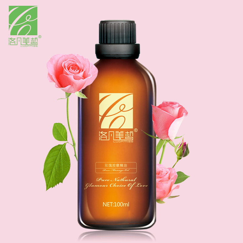 Luofmiss rose skin care hot products rose essential oil 100ml moisturize smooth repair dry skin - Rose essential oil business ...