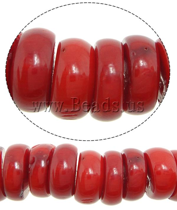 Free shipping!!!Natural Coral Beads,chinese style, Rond, red, 12x3-6mm, Hole:Approx 1mm, Length:16.2 Inch, 10Strands/Lot<br><br>Aliexpress
