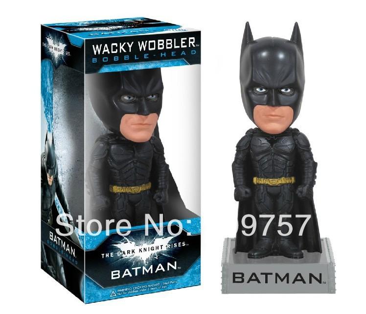 Funko Wacky Wobbler Batman The Dark Knight Riss Bobble Head Figure NIB(China (Mainland))