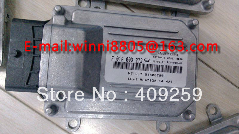 For Geely King Kong 4AT car engine computer board ECU(Electronic Control Unit)/ F01R00D272/M7 01603790/MR479Q(China (Mainland))
