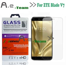 High Quality100% New Aierwill ZTE Blade V7 Tempered Glass Screen Protector Film SmartPhone stock - AE-Team Trade co., LTD. store