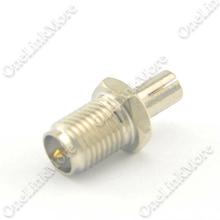 2 шт./лот SMA для TS9 адаптер RP SMA женский штекер к TS9 мужской адаптер разъемом никелем прямой бесплатная доставка