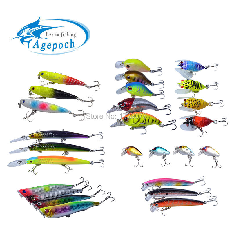 Agepoch Fishing Lures Set Wobbler Feeder Carp Peche Fishing Boat Supplies Carp Fishing Accessory Octopus Benifit Fish Set(China (Mainland))