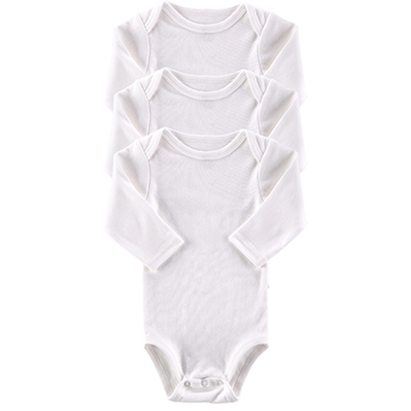 2016 New Arrival 3 PCS/LOT Baby Romper Long Sleeves Newborn Baby Clothing Set Girls and Boys Winter Triangle Cotton Jumpsuit(China (Mainland))