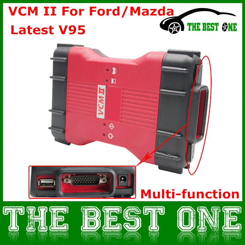 Hot Sale Newest V95 VCM II For Ford/Mazda VCM IDS Scan Tool Support 1996-2014 Vehicles For Ford OBD2 Scanner For FORD VCM 2(China (Mainland))