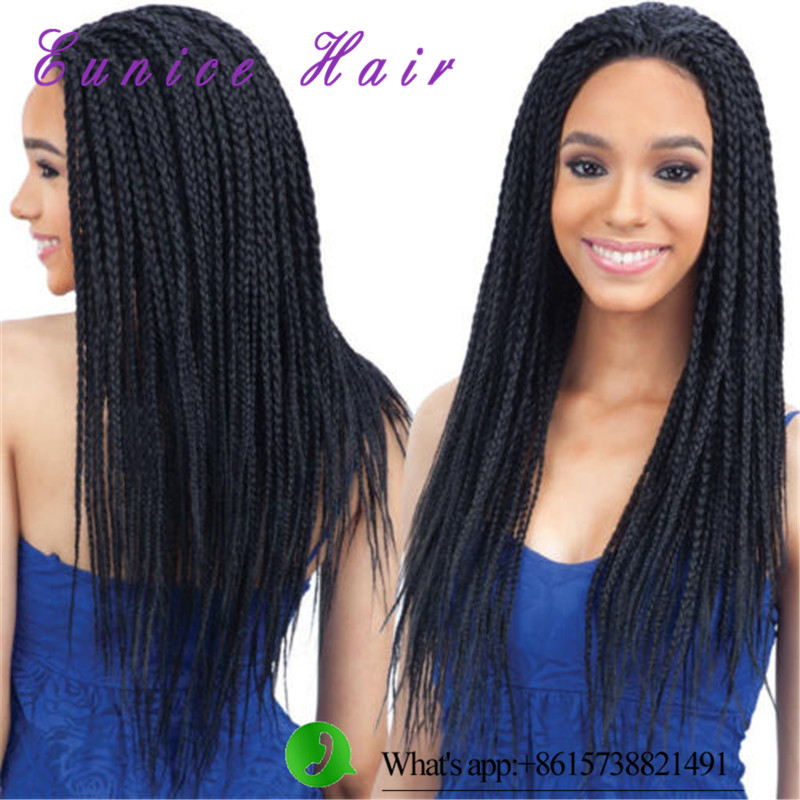 Crochet Box Braids Wig : 24inch 3x box braids Crochet Braids Hair Extensions Synthetic Braiding ...