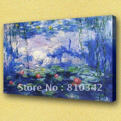 Monet oil painting,wholesale, wall picture,home decorate, famous painting reproduction Monet18(China (Mainland))