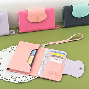 Large capacity multifunctional ardium smart phone wristband mobile phone card bag holder 6