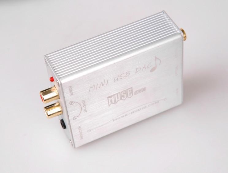 MUSE fever digital decoder DAC computer external USB sound card U turn fiber coaxial 24BT / 192KHZ analog output Free Shipping<br><br>Aliexpress