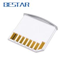 Micro SD TF to SD Card Kit Mini Adaptor Adapter for Extra Storage Macbook Air / Pro / Retina White(China (Mainland))
