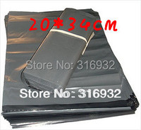 E3  free shipping 10pcs/lot 20*34CM,grey Express Bag Poly Mailer Mailing Bag Envelope Self Adhesive Seal Plastic Bag