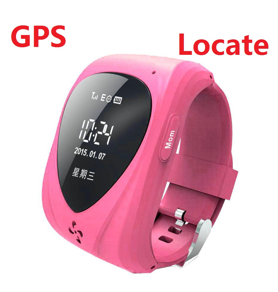 With safe material production can automatically alarm can call the global children's smart anti GPS positioning Watch(China (Mainland))