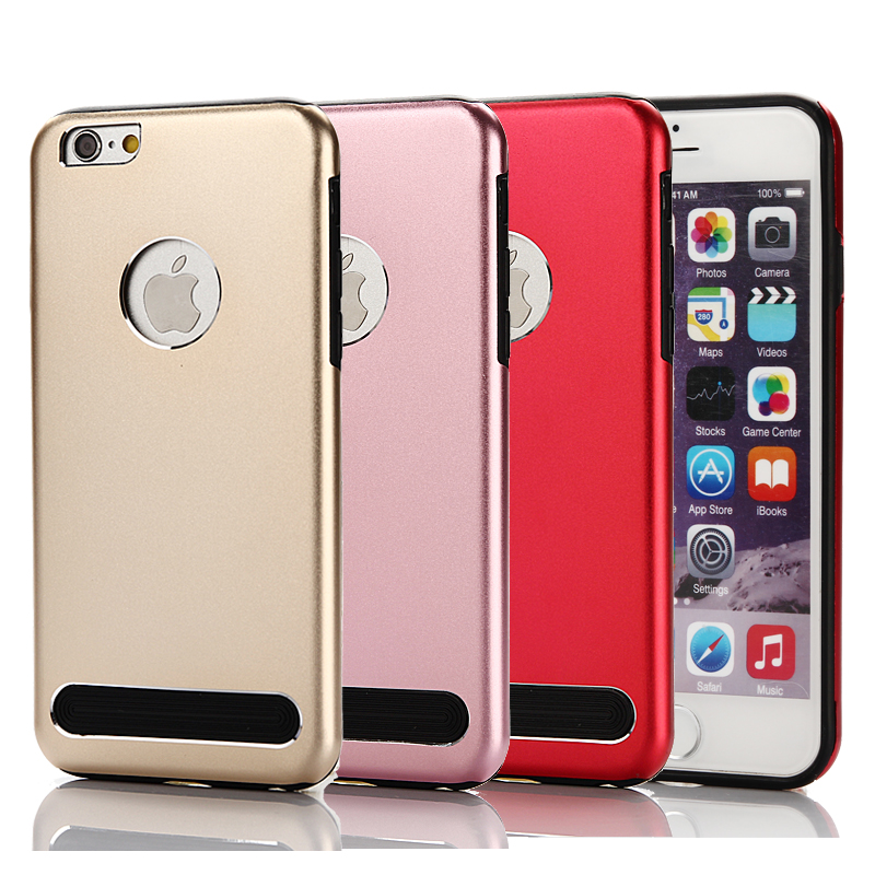 2016 New Fashion Aluminum Metal Case For Apple iPhone 6 6S 4.7 inch Mobile Phone Bag Back Cover Protective Shell Cases(China (Mainland))