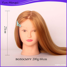 Hairdresser training sexy women mannequin heads with hair for sale hair practice head hair styling mannequins styling head doll