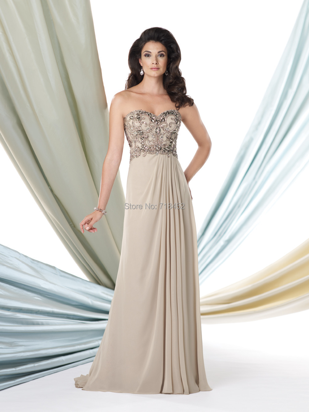 Beach Style Mother Of The Groom Dresses - Short Hair Fashions