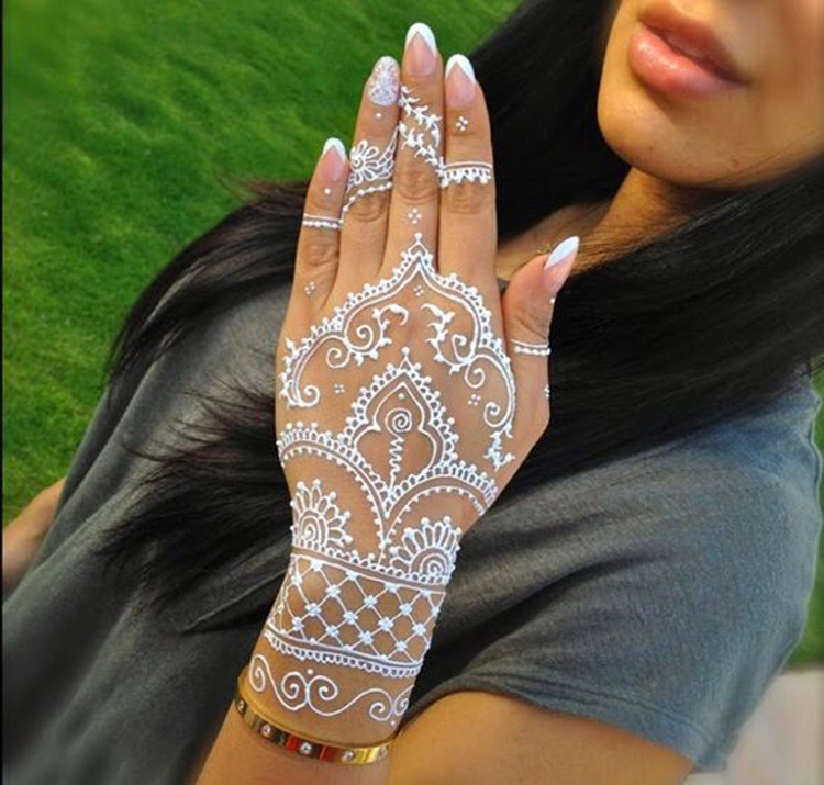 Wholesale Henna Tattoos White Paste Face Painting Henna Body Paint