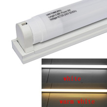 J&W LED T8 Plastic Tube 600mm 9W 800lm White Milky Cover ,W / T8 tube fixture/support/bracket(AC110-240V,2pcs/lot)(China (Mainland))