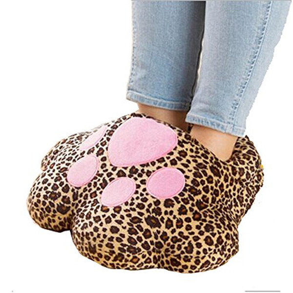 usb foot warmer shoes computer pc electric heat slipper big