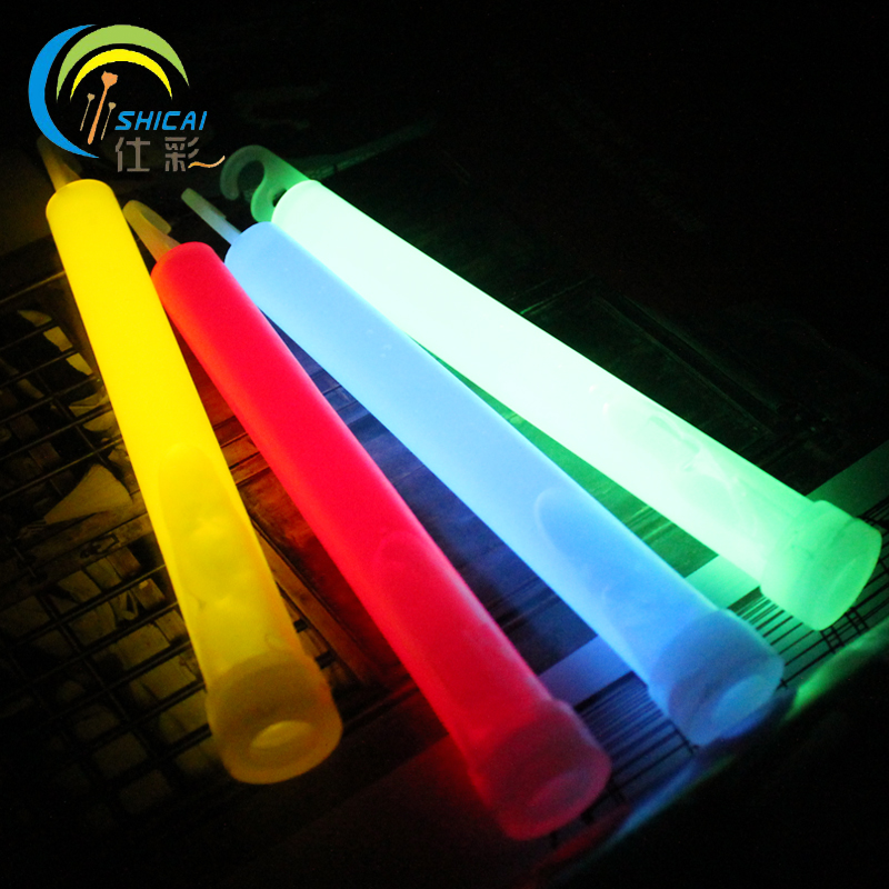 Free shipping camping outdoor light sticks tuba concert dance party decoration props adventure camp should aid stick glow stick(China (Mainland))