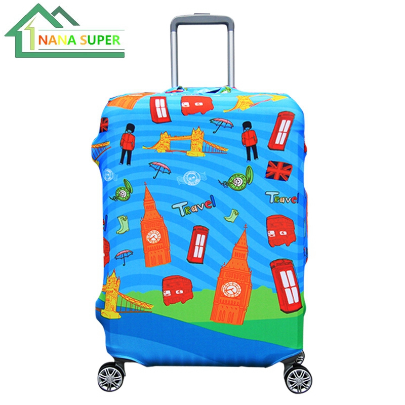 Perfectly Stretch Elastic Luggage Protector Cover Magic Cover Zipper Connect Super Thicken 18~32Inch Cases Cover Free Shipping(China (Mainland))